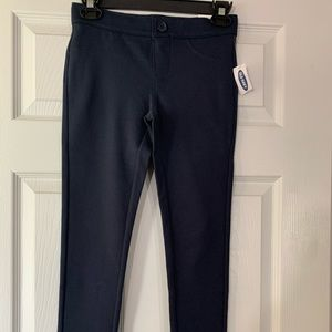 NWT girls blue Old Navy jeggings pants size 10